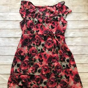 ELLE Rose Dress Size L